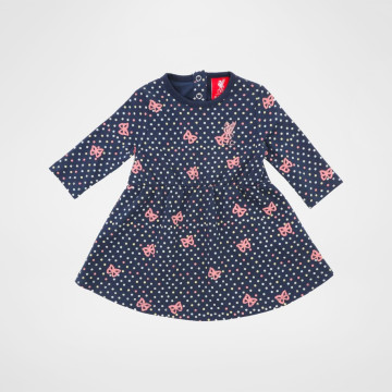 Baby Dress Navy