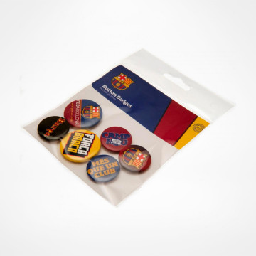 Button Badges 6-Pack