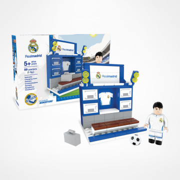 Real Madrid omklädningsrum