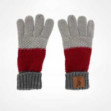 Junior Colour Block Gloves