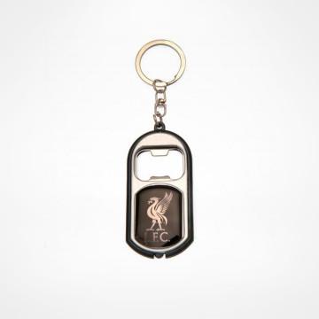 Key Ring Torch Bottle Opener - Black