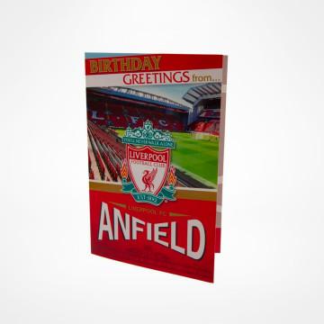 Pop-Up Födelsedagskort Anfield