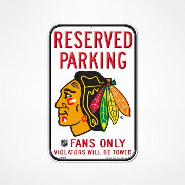Skylt Reserved Parking
