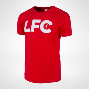 LFC Liverbird Tee - Red