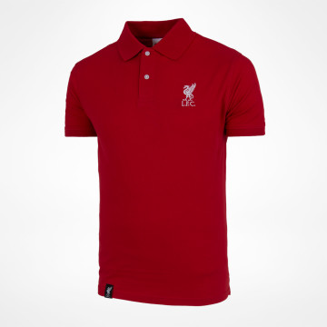 Liverbird Solid Polo - Maroon