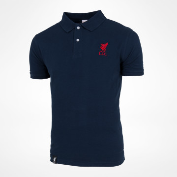 Polo Liverbird Solid - Blå