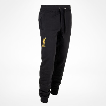 Liverbird Sweatpants - Black/Gold