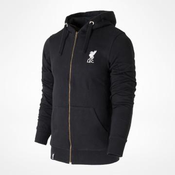 Liverpool FC Zip Hood - Black