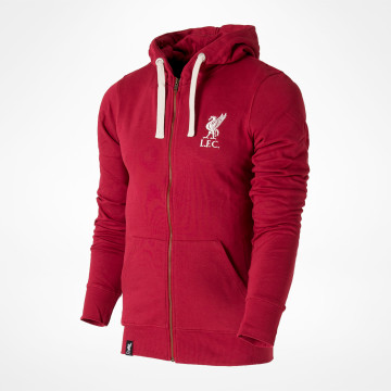 Liverpool FC Zip Hood - Red