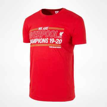 We Are Champions Tee - Red