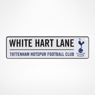 White Hart Lane Window Sign