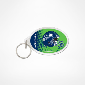 Key Ring Acrylic Oval