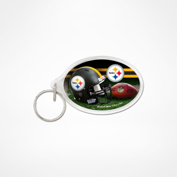 Nyckelring Acrylic Oval