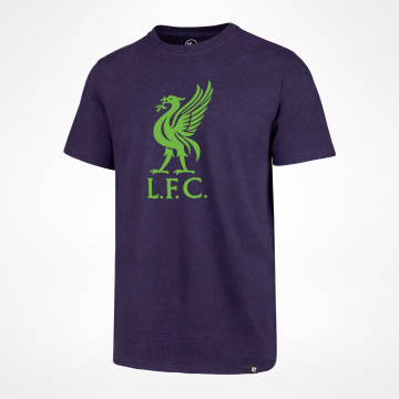 T-shirt Liverbird Club - Lila