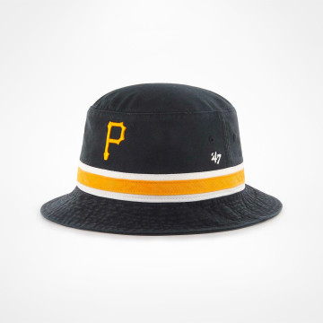 /'47 brand Pittsburgh Pirates striped 47 Bucket ha negro