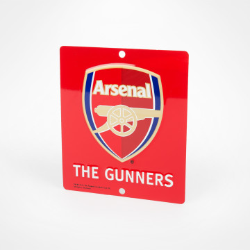 The Gunners Window Sign