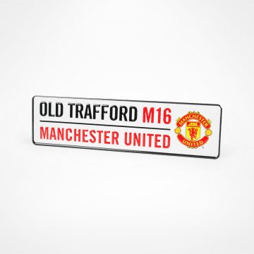 Old Trafford Window Sign
