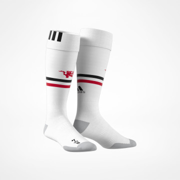 Home Socks Junior White 2017/18