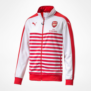 Anthem Jacket -Red/White
