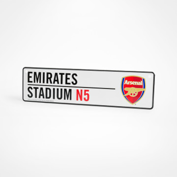 Emirates Stadium N5 Window Sign