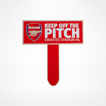 Keep Off The Pitch Sign
