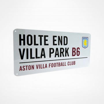 Sign Holte End