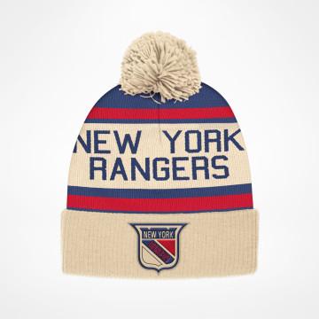 more photos b5065 43be8 New York Rangers. Beanie Stripe. 329,-. Cuffed Pom Vintage