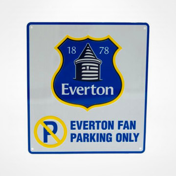Fan Parking Only Sign NC