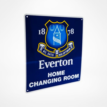 Home Changing Room Sign