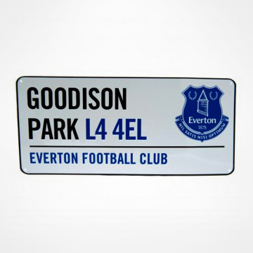 Street Sign Goodison Park