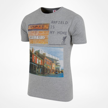 Anfield Road Tee - Grey