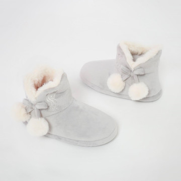Girls Boot Slipper