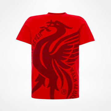 Junior Liverbird YNWA Tee - Red