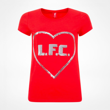 Ladies Heart Tee