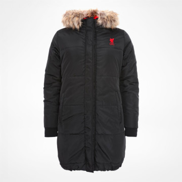 Ladies Long Padded Jacket
