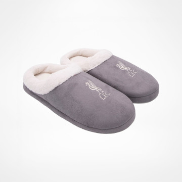 Ladies Slippers Grey