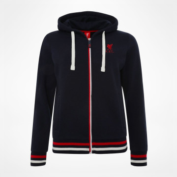 Ladies Zip Thru Hoody - Navy