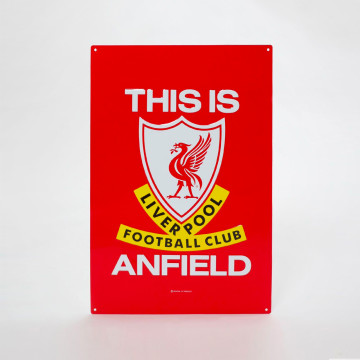 Stor This Is Anfield Skylt