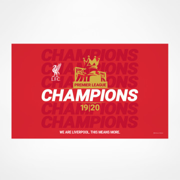 PL Champions Flag - Design 3