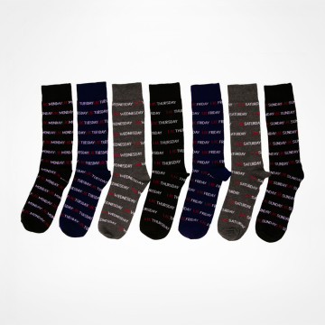 Weekday Socks 7-pack
