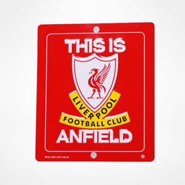 Anfield Window Sign