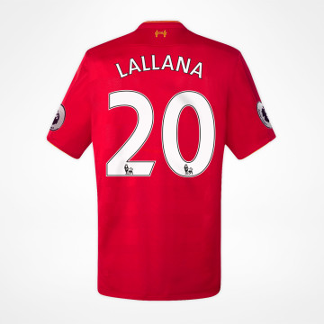 Home Jersey - Lallana 20