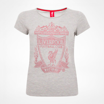 Ladies Crest Tee - Grey