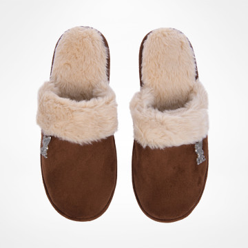 Ladies Cuff Slippers