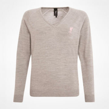 Ladies V Neck Merino Jumper
