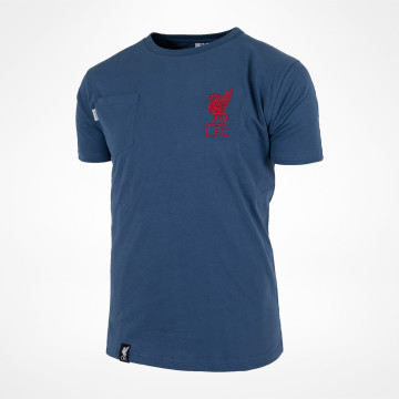 LFC Pocket T-shirt - Denimblå