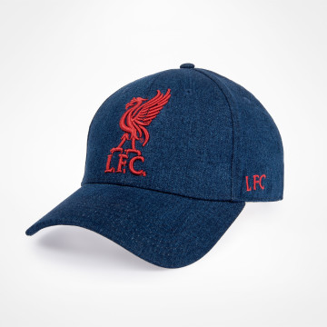 Liverbird Cap - Blue Denim