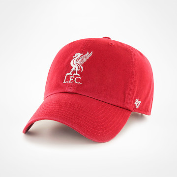 Liverbird Clean Up Cap - Red