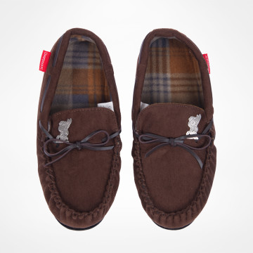 Mens Brown Moccasins