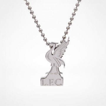 Silver Plated Pendant & Chain Liverbird